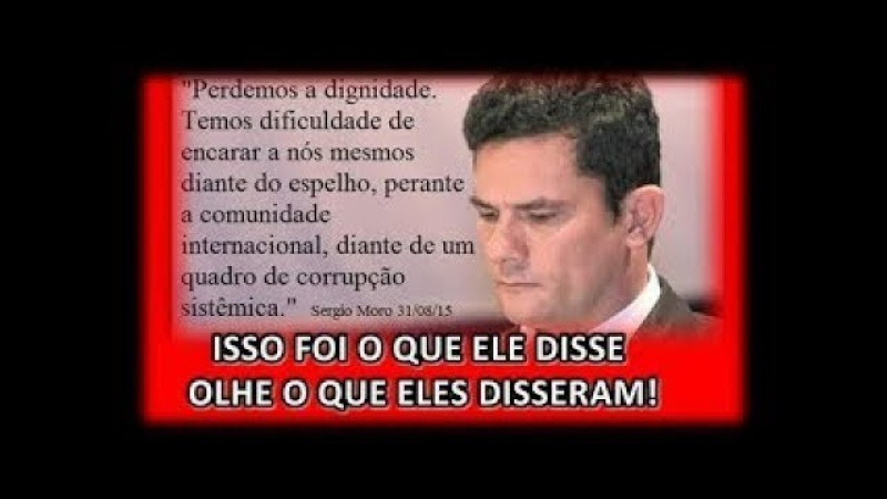 Sergio Moro é detonado na IMPRENSA INTERNACIONAL, foi desmascarado em entrevista ao canal Real News