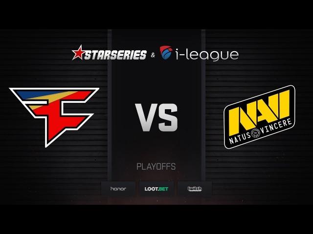 FaZe vs Natus Vincere, map 3 train, StarSeries i-League Season 4 Finals