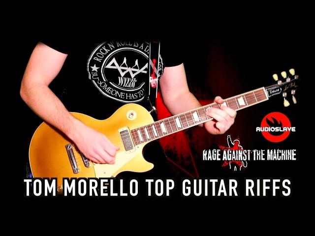 Tom Morello's Top Guitar Riffs Medley I *With TABS!*