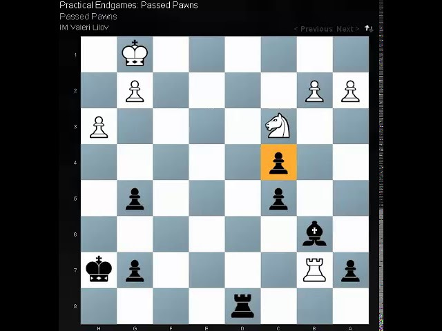 Astonishing endgame position from a real chess game