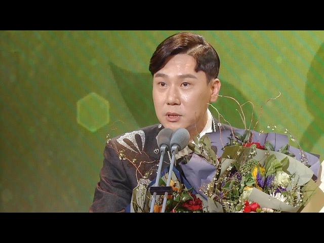 """'미운우리새끼' 이상민, 진심이 울린 신인상 소감 """"평생 잊지 못할 상"""" @SBS 연예대4"""