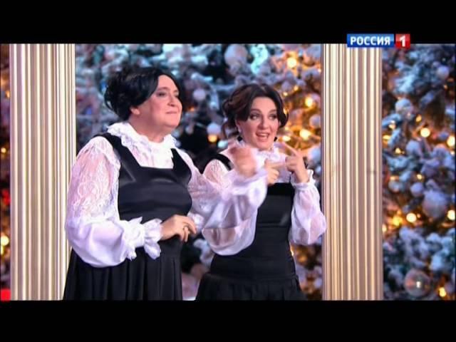 Голубой огонек на Шаболовке Ю.Стоянов и Е.Ваенга
