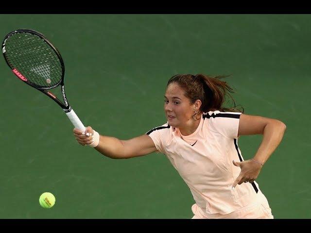 2018 Dubai Final | Shot of the Day | Daria Kasatkina's incredible lob!