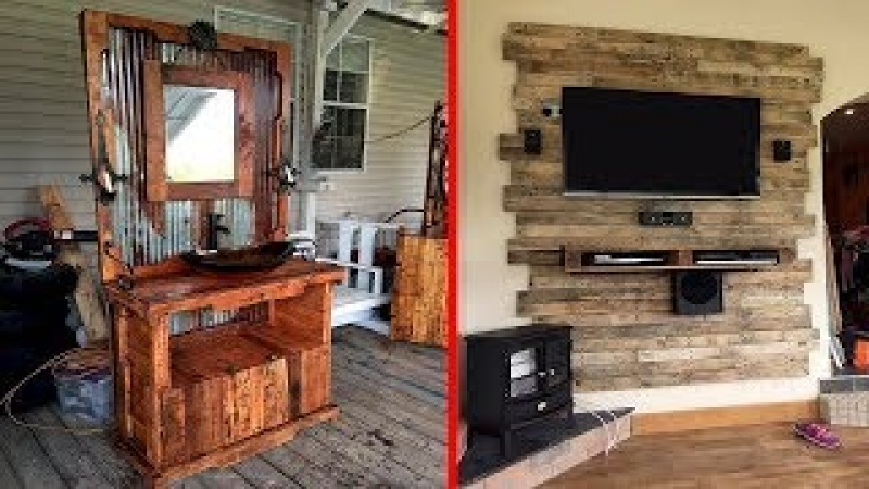 100 Creative DIY Pallet Furniture Ideas   Cheap Recycled Pallet   Chair Bed Table Sofa P1