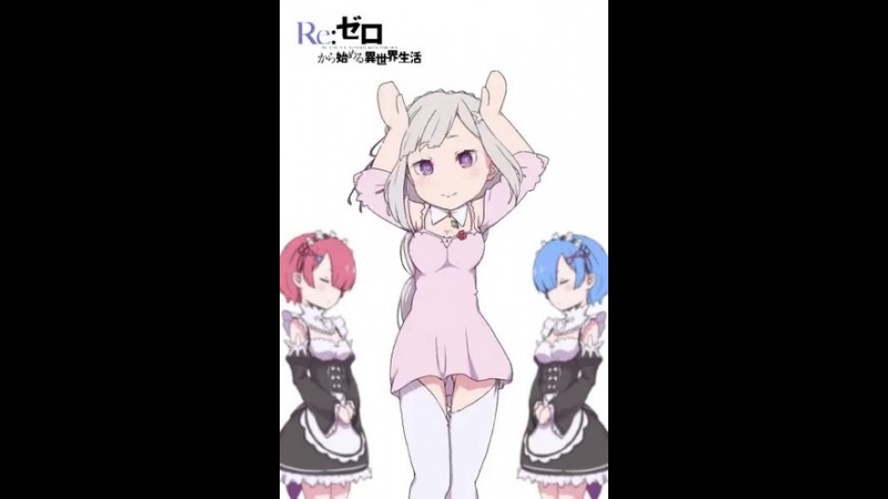 Re:zero,anime,monas chinas