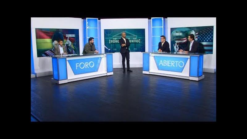 Foro Abierto - Bolivia: denuncian injerencia de Estados Unidos