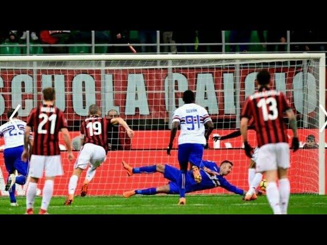 Milan Vs Sampdoria (18-2-18) ● Rigore Parto da Viviano