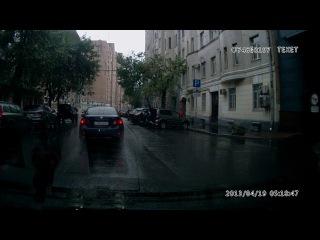ДТП перекресток ул. Чаянова и 4-я Тверская-Ямская 28.08.17