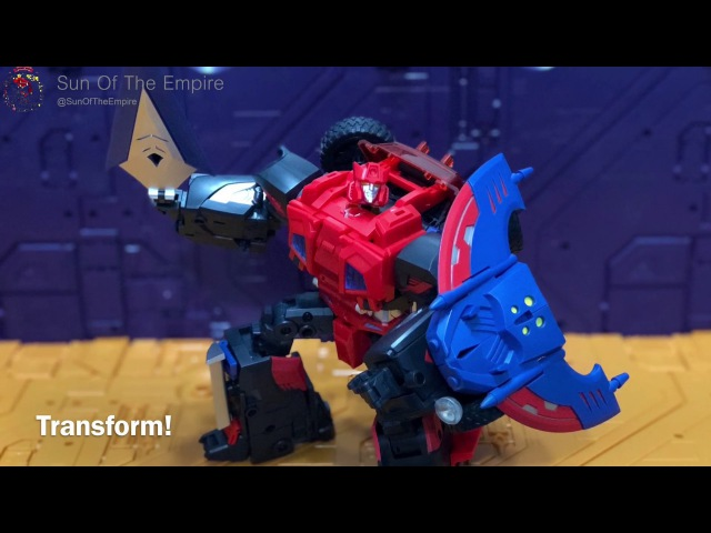 Part 2 TFC Toys TF 03 Trinity Force 路上王 Wildhunter 荒野猎手 Quick Review Transformation Guide