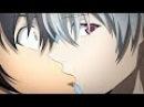 Mirai Nikki Akise kisses Yuki