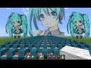 Rolling Girl Hatsune Miku Minecraft Noteblock Song