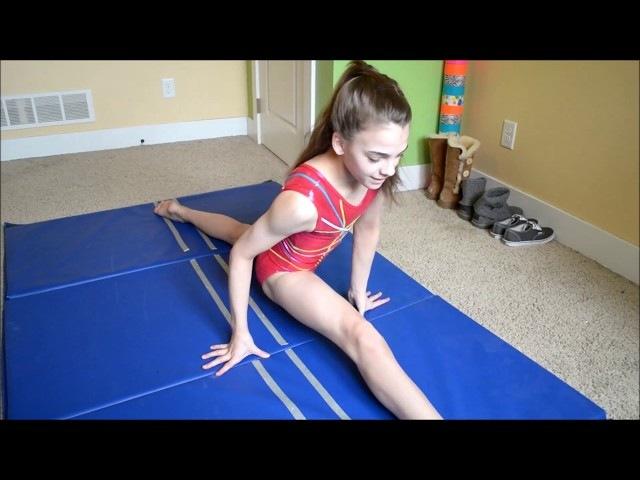 Megan and Cieras Flexibility