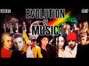 The Evolution Of Music (1400 B.C. - 2017)