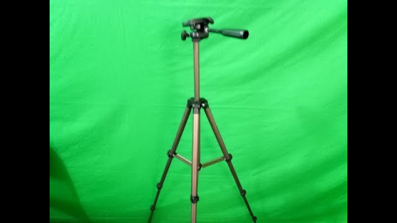 Eocean 50 Inch Tripod, Lightweight Aluminum iPhone Tripod, Video Tripod for Cellphone and Camera, Un
