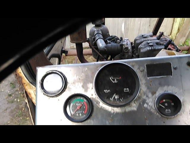 Трактор самоходка Т16 ГАЗ