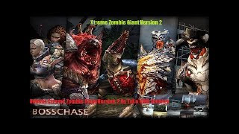 Counter strike 1.6 Xtreme Zombie Giant Version 2 Editers By LuXo KING Gaming