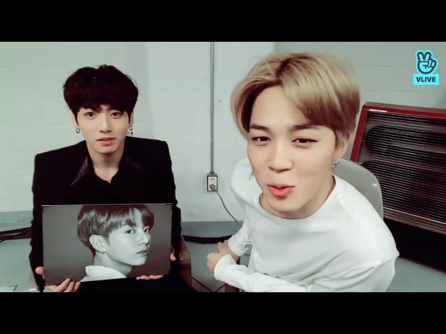 [ RUS SUB ] V LIVE JM JK Live! 🐶🐰 08.12.2017