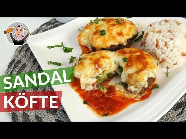 Sandal Köfte | Kaşarlı Garnitürlü Beşamel Soslu | Hatice Mazi ile Yemek Tarifleri
