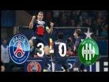 neymar PARIS SAINT GERMAIN 3 vs 0 SAINT ETIENNE -GOAL