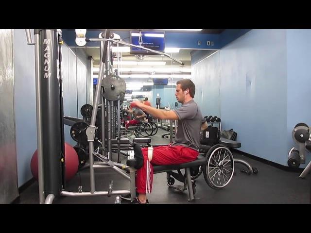 ОФП для колясочника Тренировка Гаретта Уильямсона