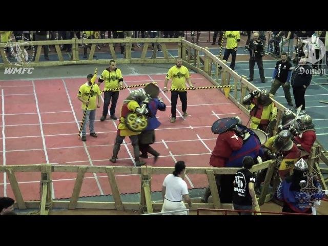 ДИНАМО 2016 (F) 12fight Партизан 1 vs Ганза
