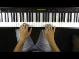 Robbie Williams - Supreme - Cover Piano Solo