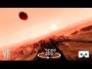 360 VR Mars Roller Coaster: Virtual Reality 360 3D Video for Samsung GearVR vrBox, Cardboard Oculus rollercoaster 360video mars