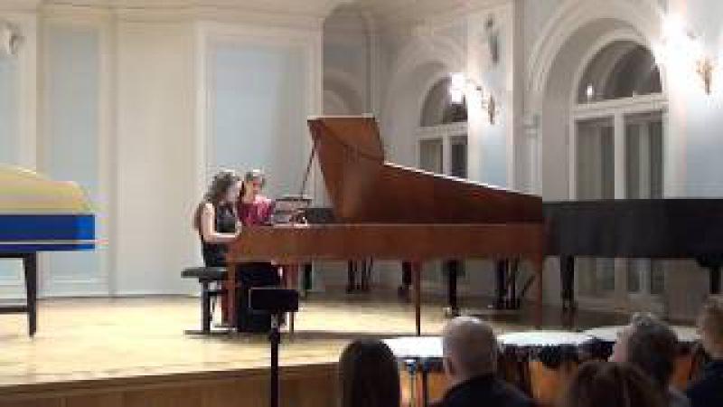 Piano Sonata in Es major Avgustina Voloshina