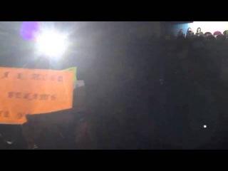 Флешмоб на концерте Ночных Снайперов в Мурманске