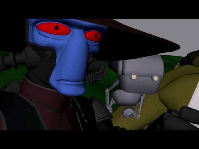 The Clone Wars Legacy - Unfinished episode clip 1: Cad Bane and Boba Fett