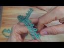 Tatting - Working with One Shuttle, Adding New Thread