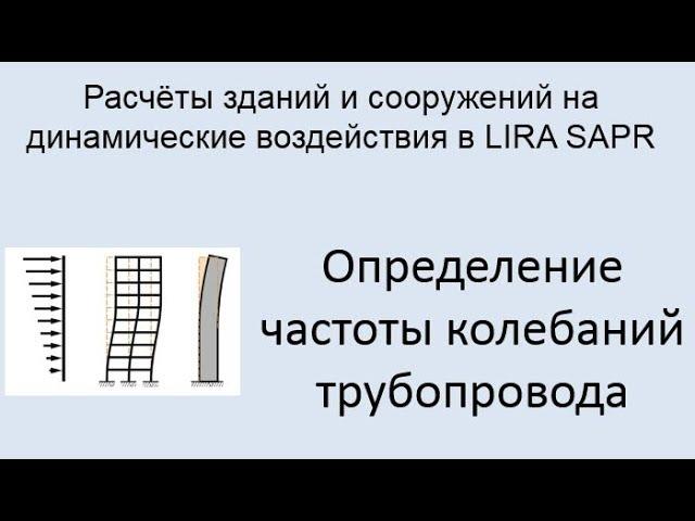 Расчёт зданий и сооружений на динамические воздействия в Lira Sapr Урок 4