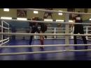 Наша девочка Ксения Родионова(Красный шлем)Одержала победу над проф.бойцом ММА
