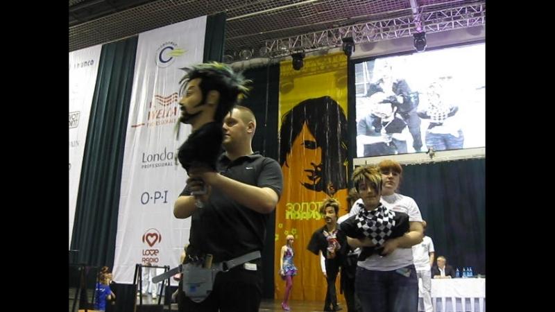 Конкурс парикмахерского искусства.