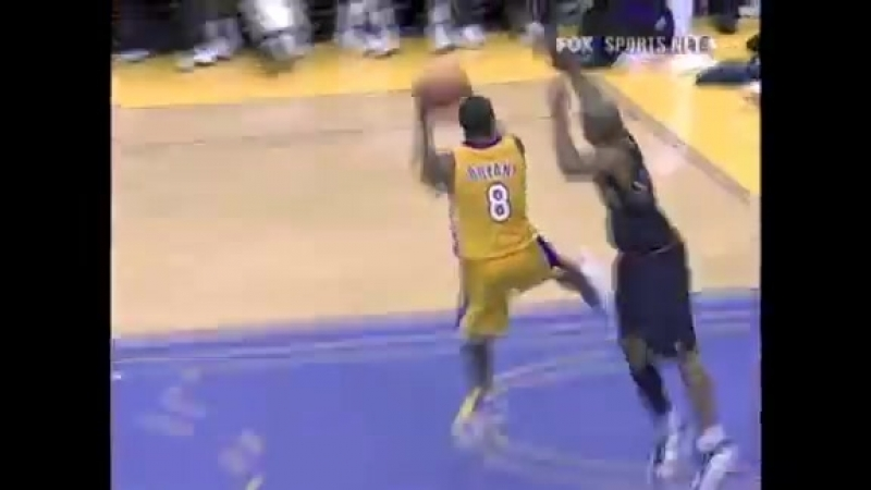 Kobe Bryant Behind The Back Reverse Dunk