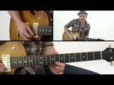 Chicago Blues - #21 4x4 Lick - Lead Guitar Lesson - Jeff McErlain