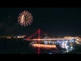 Праздничный салют 9 мая. День Победы в Тюмени!