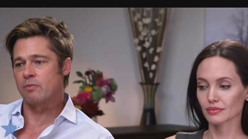 Последнее интервью Брэда Питта и Анджелины Джоли перед разводом
