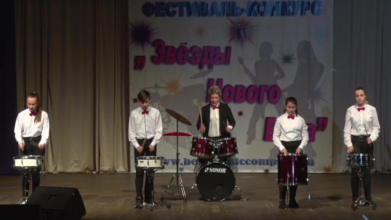 ансамбль ИМПУЛЬС №4 БАРАБАНЫ 2 композиции