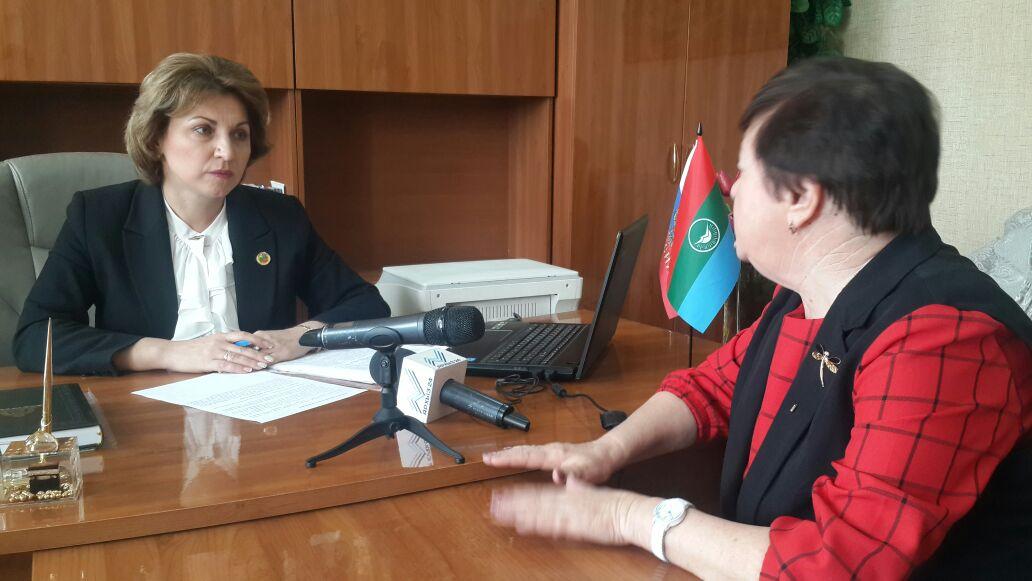 Инна Кравченко побывала в Кардоникской