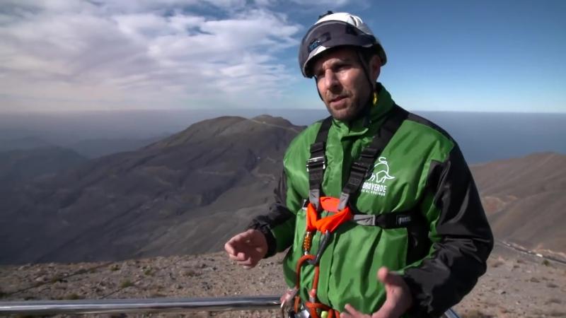 Worlds longest zipline launches on Jebel Jais in Ras Al Khaimah