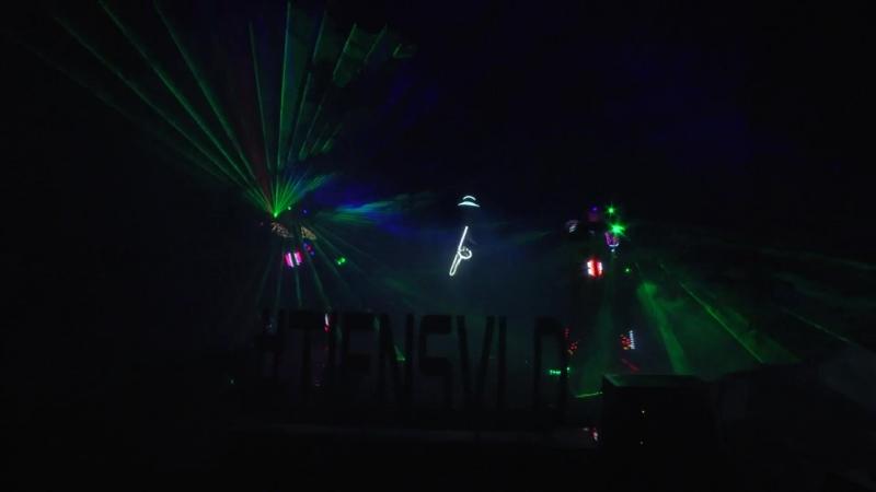 Световое лазер шоу