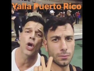 2 октября 2017. #InstagramStories #rickymartin #jwanyosef