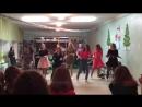 выступление с новогоднего танцевального марафона Танцы со звездами 2017