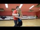 Подарок на день рождения-кизомба с моим партнером.Vladimir Balashov&Svetlana в школе танцев Breeze Dance.Танцевальный тандем