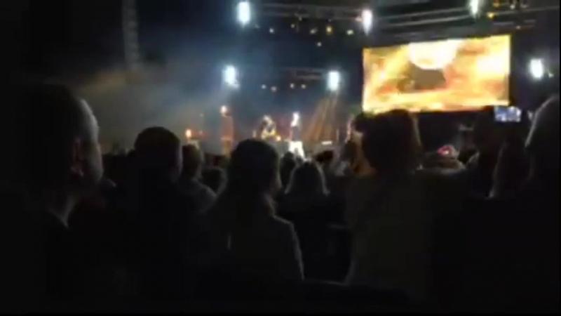 Прямой эфир на Фейсбук. Концерт Томаса Андерса в Минске (24-05-2018)