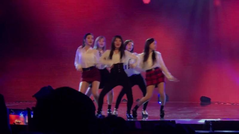 171124 fancam Red Flavor Red Velvet @shilla beauty concert in Singapore