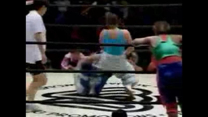 1. Etsuko Mita, Numatchi, Tomoko Watanabe vs. Carol Midori, Michiko Futagami, Mizuki Endo (10/9/93)
