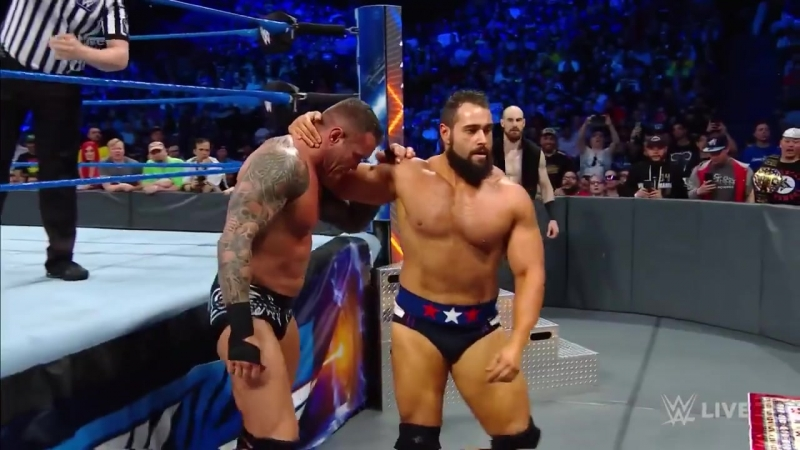 Who will earn an opportunity on WWE SmackDown Live to challenge Jinder Mahal for the United States Championship Randy Orton, Bo