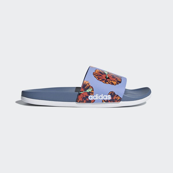 Шлепанцы Adilette Cloudfoam Plus Graphic